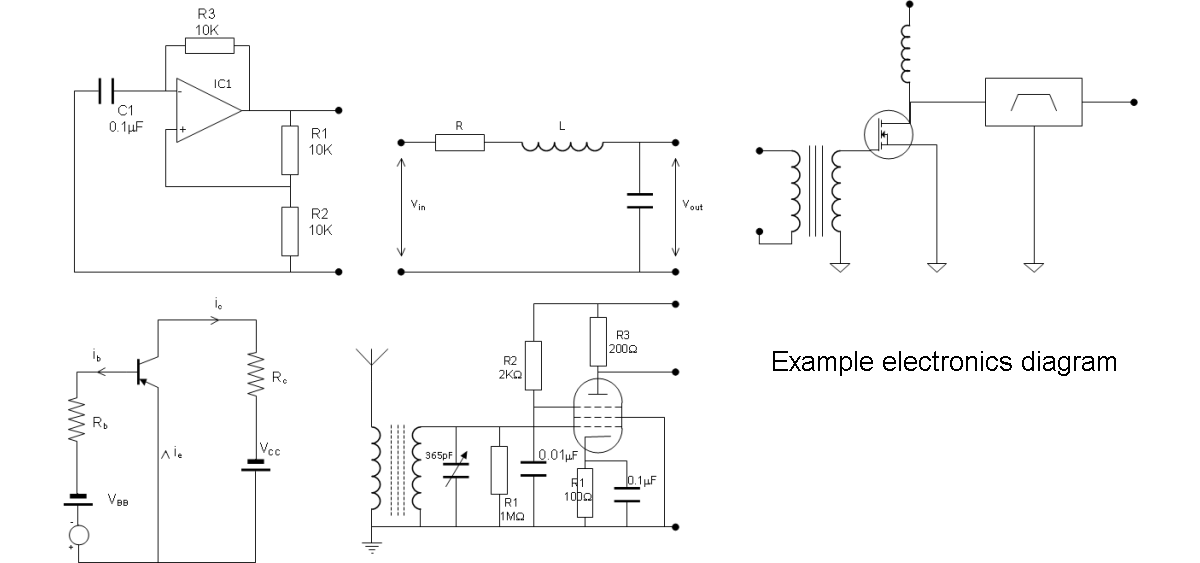 electronics example diagram